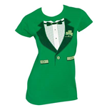 Irish Tux St. Patrick's Day T-Shirt