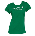 Irish Yoga St. Patrick's Day T-Shirt