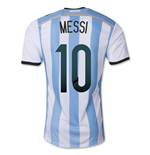 Trikot Argentinien Fussball 2014-15 World Cup Home (Messi 10)