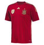 Trikot Spanien Fussball 2014-15 Home World Cup