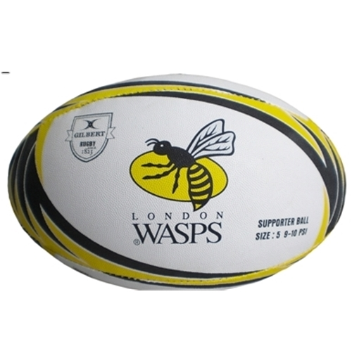 Rugbyball Wasps Supporter