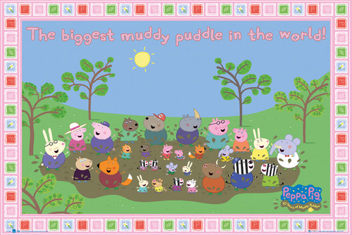 Poster Peppa Pig 107908