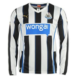 Langer Ärmel Trikot Newcastle United  2013-14 Home