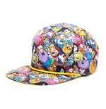 Adventure Time Snap Back Hip Hop Cap All Over Print