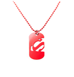 Superman Dog Tag - Cut Out Logo