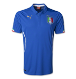 T-Shirt Italien Fussball 2014-15 Home World Cup.