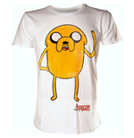 T-Shirt Adventure Time - Jake Waving - L