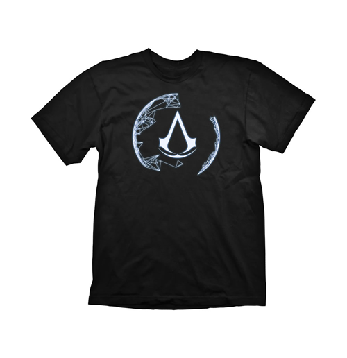 T-Shirt Assassins Creed  4 Animus Crest Small