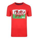 T-Shirt Wales Rugby 2015 Rugby