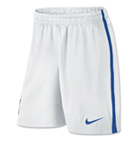 Shorts Brasilien Fussball 2014-15 Nike Away für Kinder