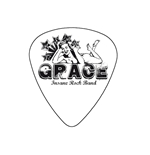"Fender ""Heavy"" Guitar Pick - Grace"