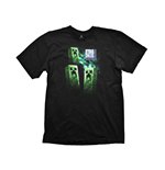 T-Shirt Minecraft Youth Tee Creeper Anatomy Extra Large