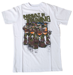 T-Shirt Ninja Turtles  In Training - für Kinder 176/182cm