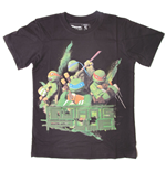 T-Shirt Ninja Turtles Rule - für Kinder 140/146 cm