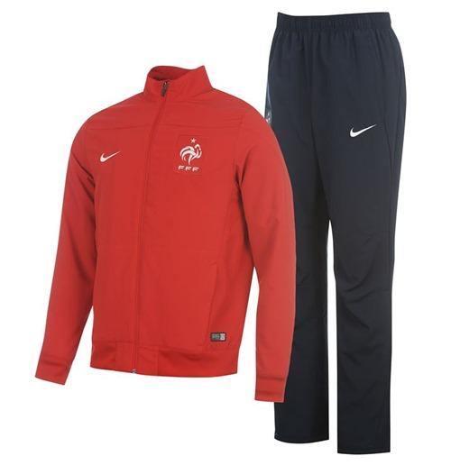 Trainingsanzug Frankreich 2014 15 Nike Woven