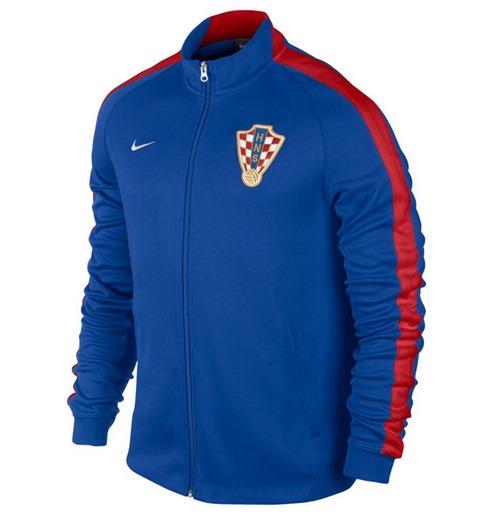 save off 76c85 53689 Jacke Kroatien 2014-15 Nike Authentic N98