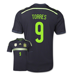 Trikot Spanien Fussball  2014-15 Away World Cup (Torres 9)