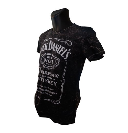 T-Shirt Jack Daniel's Classic Acid Washed Large