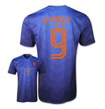 Trikot Holland 2014-15 World Cup Away (V. Persie 9) für Kinder