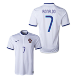 Trikot Portugal 2014-15 World Cup Away (Ronaldo 7). Offizielles Produkt