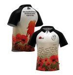 Trikot  British Army Letter Home Poppy Rugby