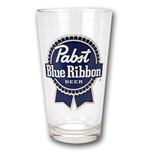 Glas Pabst Blue Ribbon