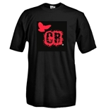 Round necked t-shirt with flex printing - Chatham Ravens