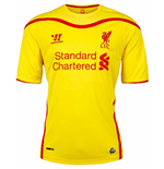 Trikot Liverpool FC 2014-15 Away für Kinder