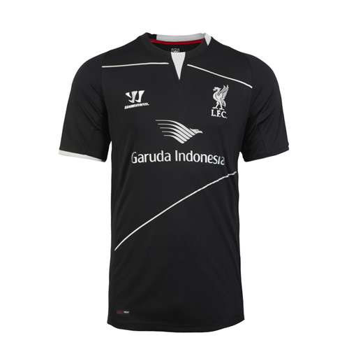 Trikot Liverpool Training Liverpool FC 2014-15 Warrior für Kinder