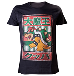 T-Shirt NINTENDO SUPER MARIO BROS. Bowser with Kanji Text Large