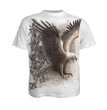 T-Shirt SPIRAL Wings O Freedom Medium
