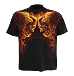 T-Shirt SPIRAL Burn In Hell Extra Large
