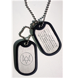 Watch Dogs Dog Tags mit Kugelkette - Fox Wanted