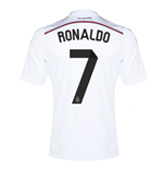 Trikot Real Madrid 2014-15 Home (Ronaldo 7) für Kinder