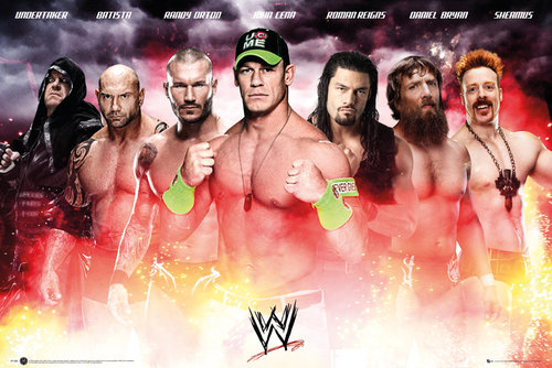 Poster WWE  115617
