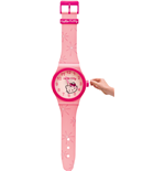 Hello Kitty Wanduhr in Armbanduhr-Form 95x20 cm