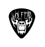 "Fender ""Medium"" Guitar Pick - WOLFEAR"
