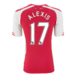 Trikot Arsenal 2014-15 Home (Alexis 17)