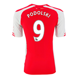Trikot Arsenal 2014-15 Home (Podolski 9) für Kinder