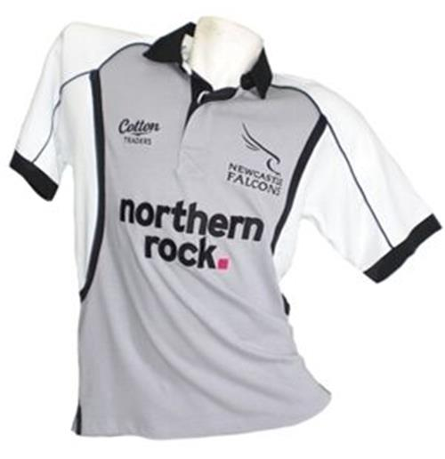 Newcastle Falcons Change 2010 Trikot