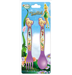 Fairies-Tinkerbell Besteckset in Plastik 9x22 cm