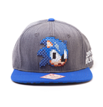 Kappe Sonic the Hedgehog 2D Pixelated Head