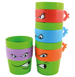 Teenage Mutant Ninja Turtles Becher stapelbar 4er-Set
