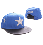 Captain America Baseball Cap Star Logo blue