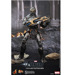 The Avengers Movie Masterpiece Actionfigur 1/6 Chitauri Footsoldier 30 cm