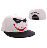 Batman Baseball Cap Joker Logo white
