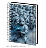 Star Wars Notizbuch A5 3D Stormtroopers