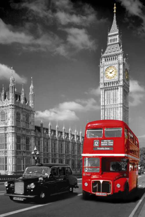 Poster London 122541