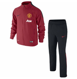 Trainingsanzug 2014-2015 Man Utd Nike Woven (rot) - für Kinder