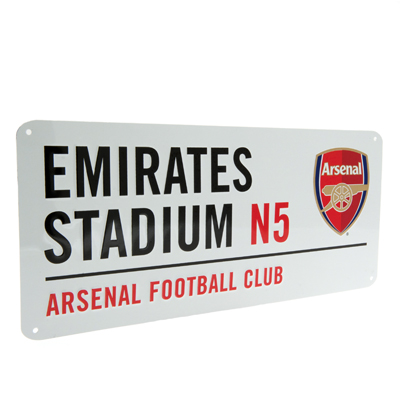 Schild Arsenal aus Metall